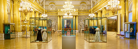 "Opening of the exhibition ""Fabergé, Jeweller to the Imperial Court"""